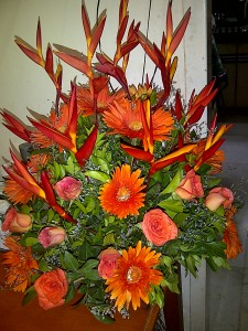 Colours of Their Love are the Colours of my Life ~ Birthday Bouquet from Children &amp; Wife
