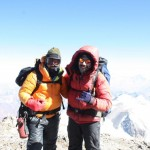 On Top of Their World on Aconcagua