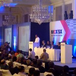 FM Addressing Audience at the MCX-SX Launch