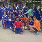 Cathedral Girls u 19  Football team  ~The DSO u 19 Girls Football Champions 2013 for the first time in 152 Years of the School's History !