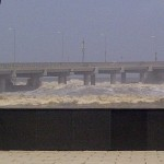 Sea Swells around the Worli Sea Link