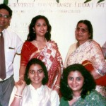 Family at Scriptech Launch October 12,1990