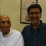 The Purohits ~ 94 year old Maganbhai & Son Gautam ~Owners of Thaker Bhojnalay