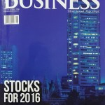 Gaurav Parikh in Outlook Business Special Edition December 2015 ~Stocks for 2016