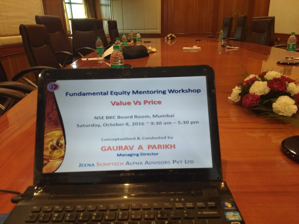 NSE Equity Mentoring Workshop